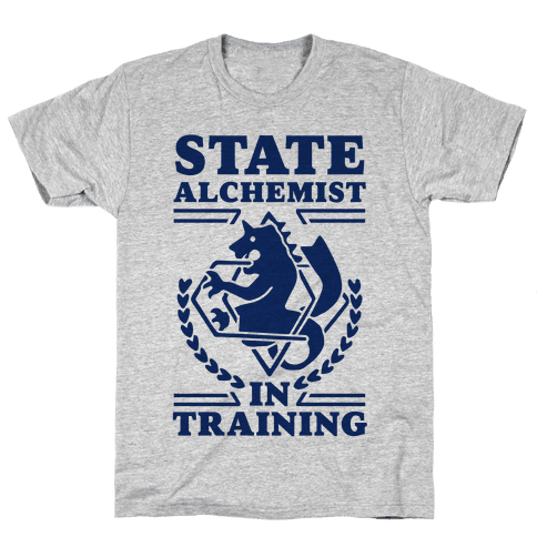 State Alchemist in Training Mens T-Shirt