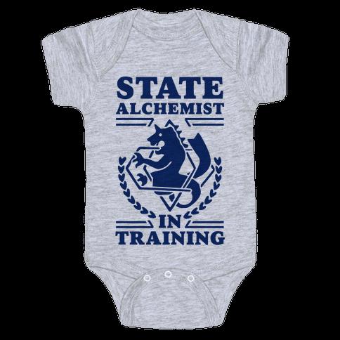 State Alchemist in Training Baby Onesy