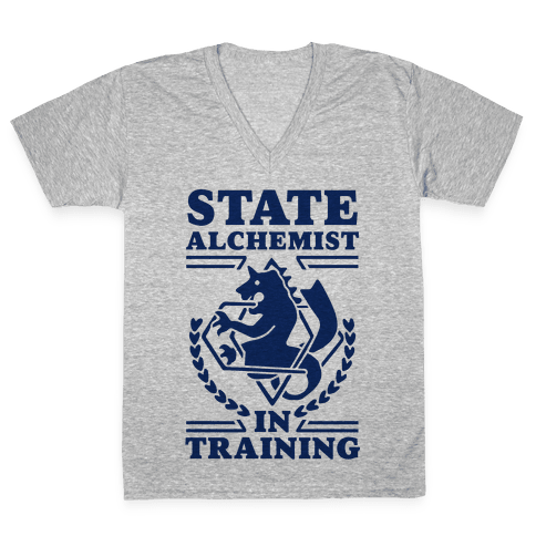 State Alchemist in Training V-Neck Tee Shirt