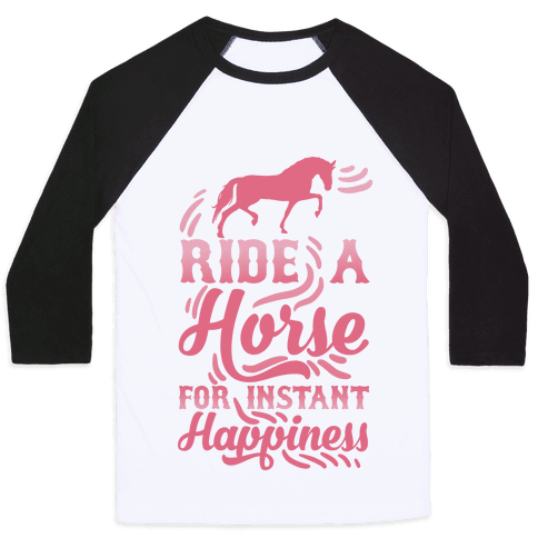 Ride A Horse For Instant Happiness