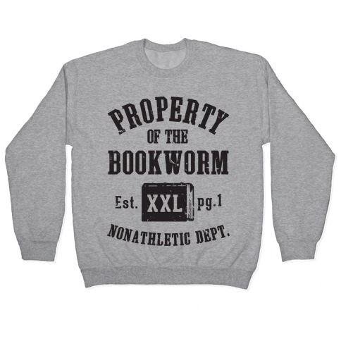 Bookworm Non Athletic Department Pullover