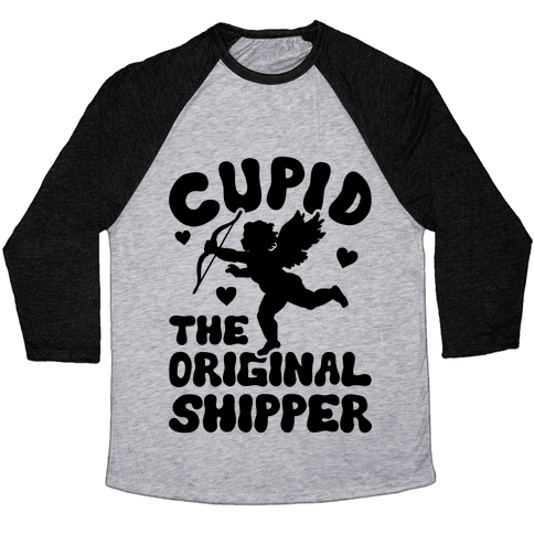 Cupid The Original Shipper Baseball Tee