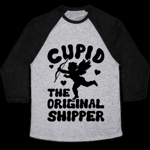 Cupid The Original Shipper Baseball Tee