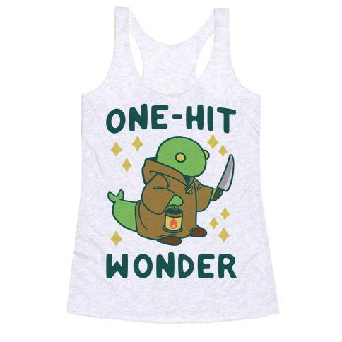 One Hit Wonder - Tonberry Racerback Tank Top