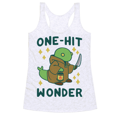 One Hit Wonder - Tonberry Racerback Tank Top