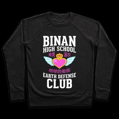 Binan High School Earth Defense Club (Pink) Pullover