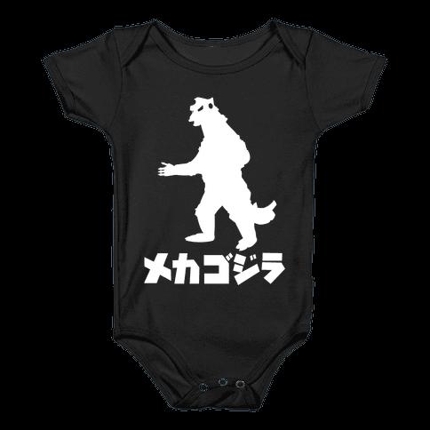 Mecha Godzilla Baby Onesy