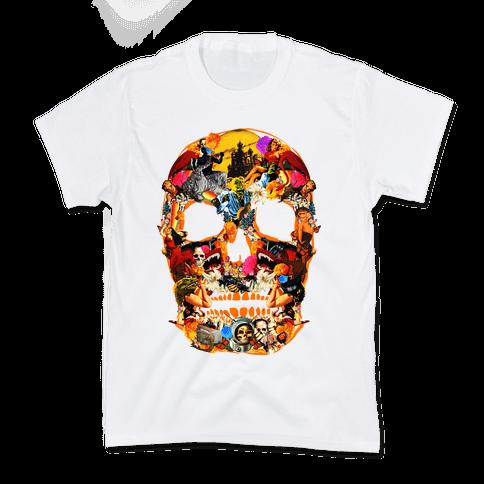 Vintage Skull Kids T-Shirt