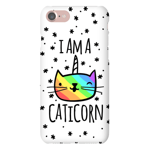 I Am A Caticorn Phone Case