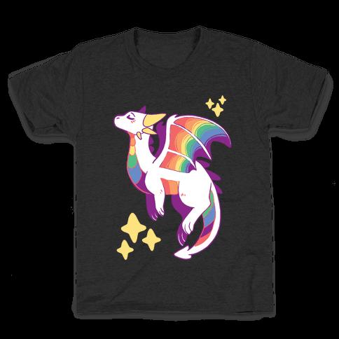 Gay Pride Dragon Kids T-Shirt