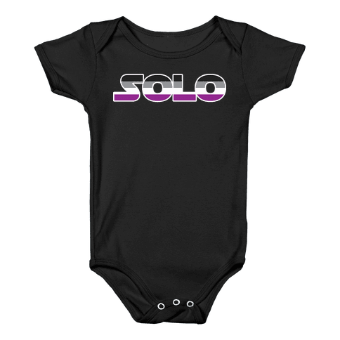 Solo (Asexual) Baby Onesy