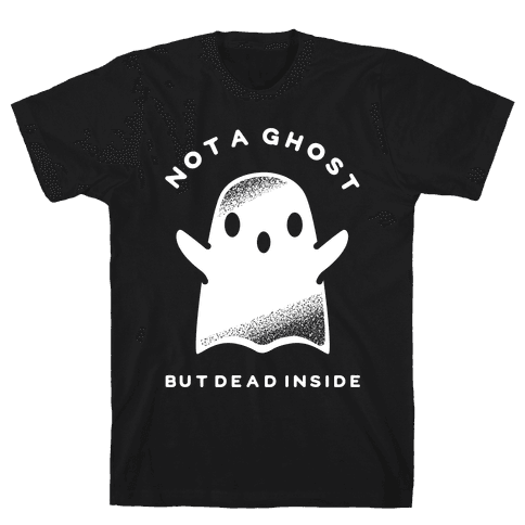 Not A Ghost White Mens T-Shirt
