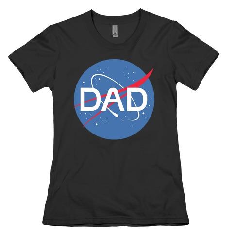 DAD Nasa Parody Womens T-Shirt