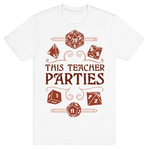 This Teacher Parties T-Shirt