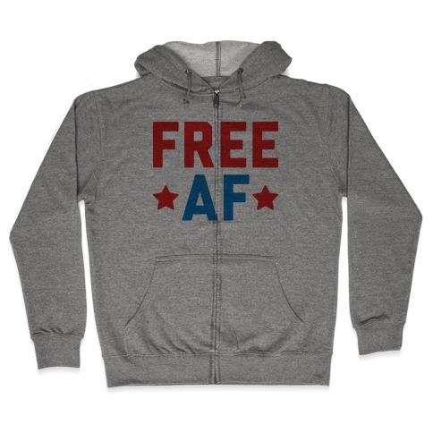 c2e176fd Free AF Hoodie | LookHUMAN