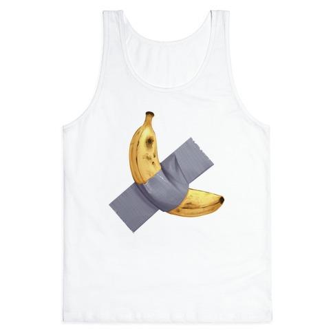 Banana Duct Tape Tank Top
