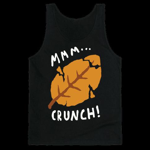 Mmm Crunch Fall Leaf Tank Top