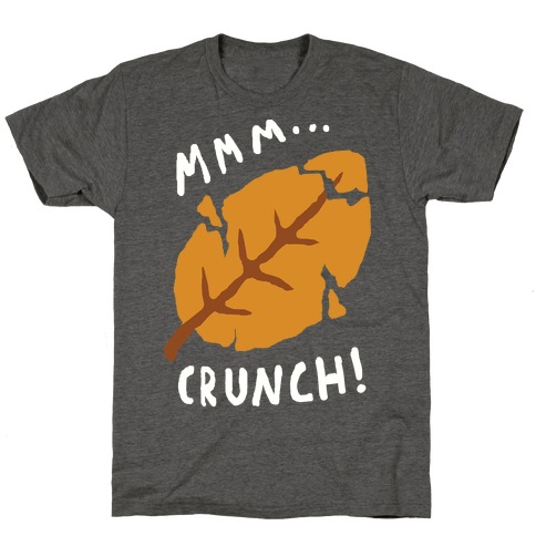 Mmm Crunch Fall Leaf T-Shirt