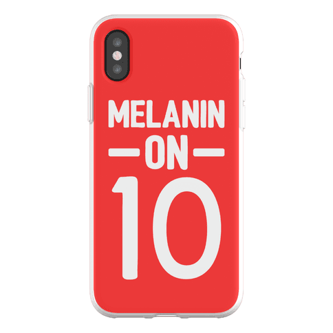 Melanin On 10 Phone Flexi-Case