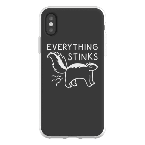 Everything Stinks Skunk Phone Flexi-Case