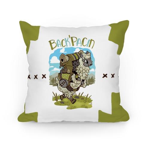 Back'Pacin Alpaca Pillow