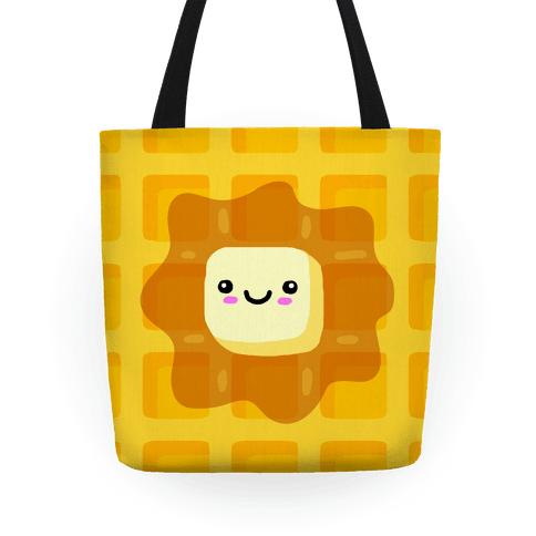 Kawaii Waffle Tote