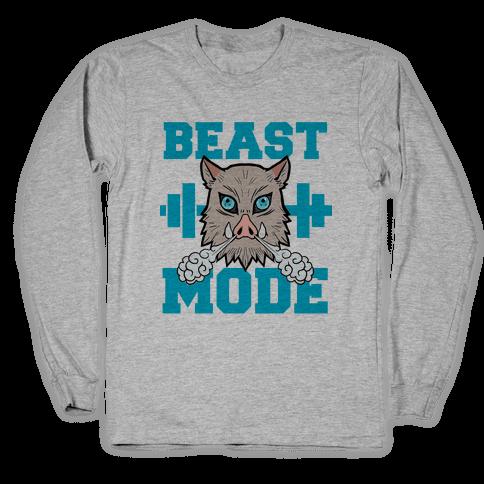 Beast Mode Inosuke Long Sleeve T-Shirt