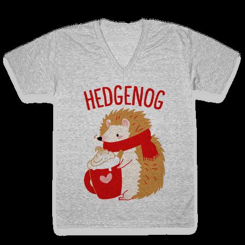Hedgenog V-Neck Tee Shirt