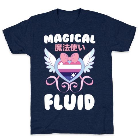Magical Fluid - Genderfluid T-Shirt
