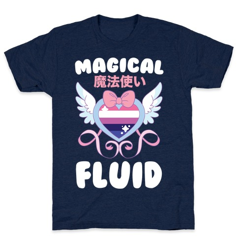Magical Fluid - Trans Pride T-Shirt