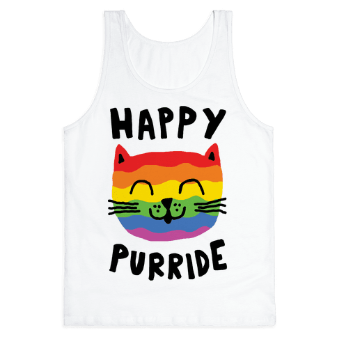 Happy Purride Tank Top