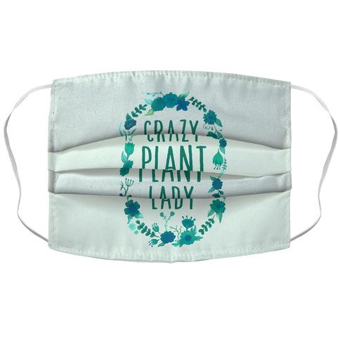 Crazy Plant Lady Accordion Face Mask