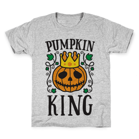 Pumpkin King Kids T-Shirt