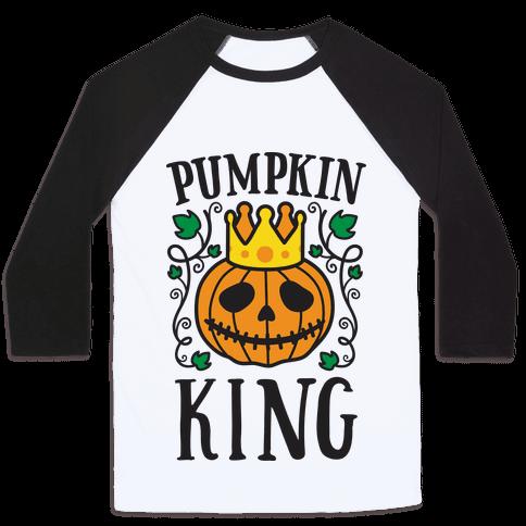 Pumpkin King Baseball Tee