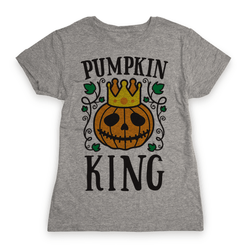 Pumpkin King Womens T-Shirt