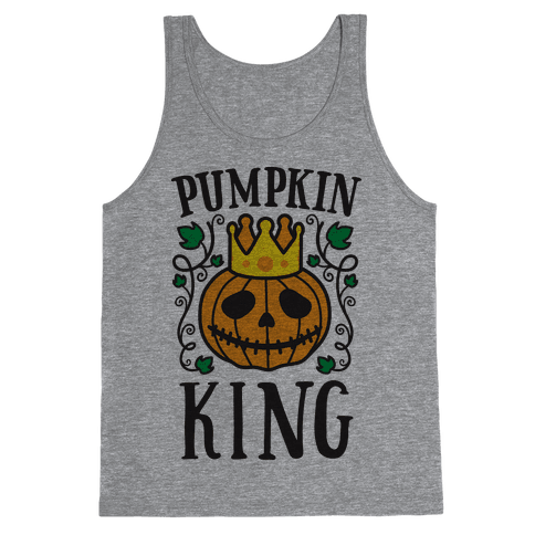 Pumpkin King Tank Top