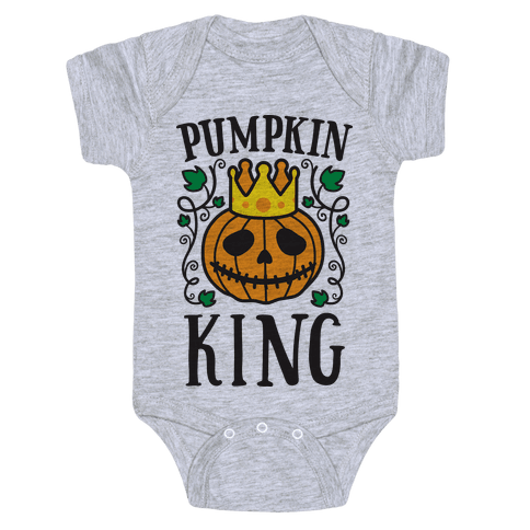 Pumpkin King Baby Onesy