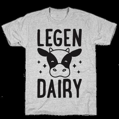 LegenDAIRY Cow Mens T-Shirt