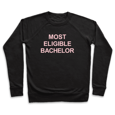Most Eligible Bachelor Pullover