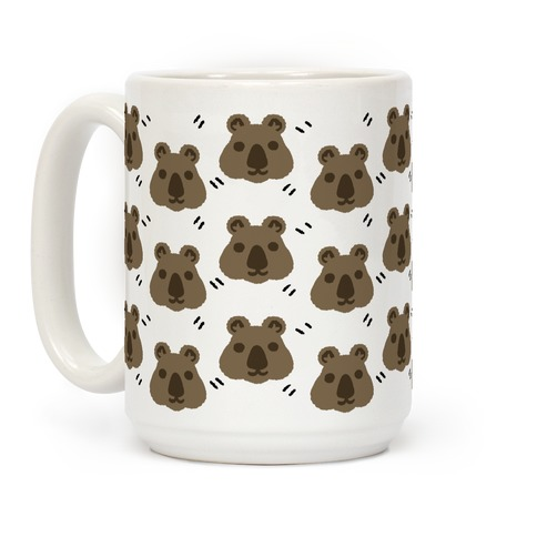 Cute Wombat Boho Pattern Coffee Mug