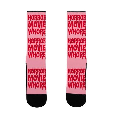 Horror Movie Whore Sock