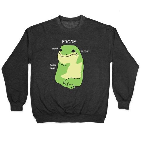 Froge Frog Doge Pullover