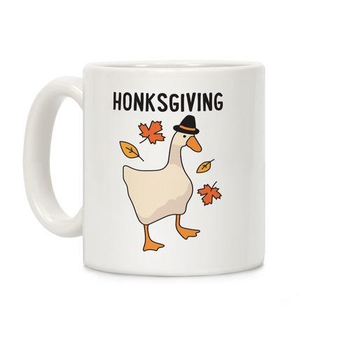 Happy Honksgiving Goose Coffee Mug