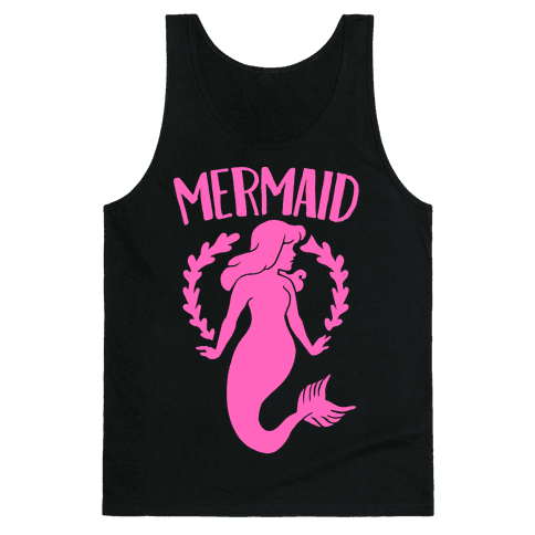 Mermaid Sisters (Pink) Tank Top