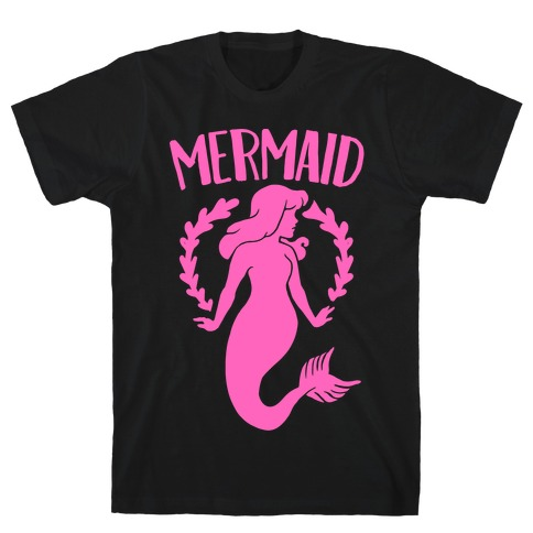 Mermaid Sisters (Pink) T-Shirt