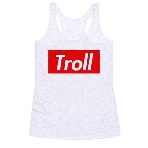 Supreme Troll Racerback Tank Top