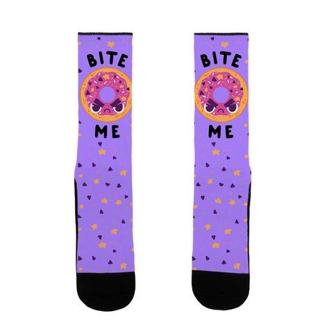 Bite Me (Donut) Sock