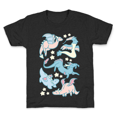 Dreamy Dragons Kids T-Shirt