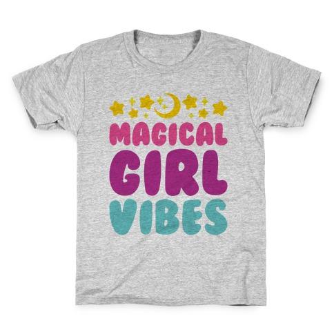 Magical Girl Vibes Kids T-Shirt