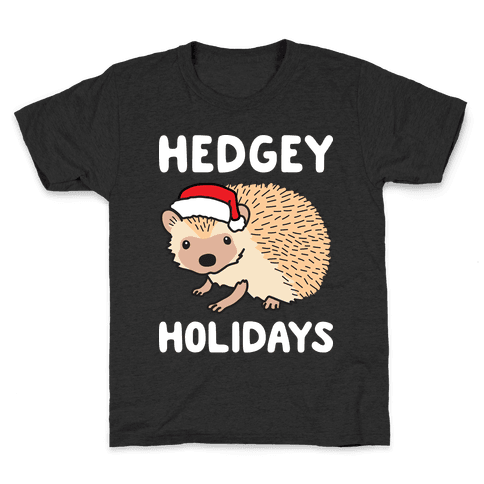 Hedgey Holidays Kids T-Shirt